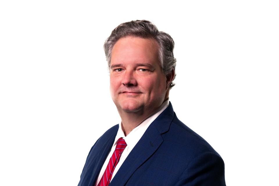 Lexington Kentucky attorney Eric Lycan Portrait for Embry Merritt Shaffar Womack, PLLC
